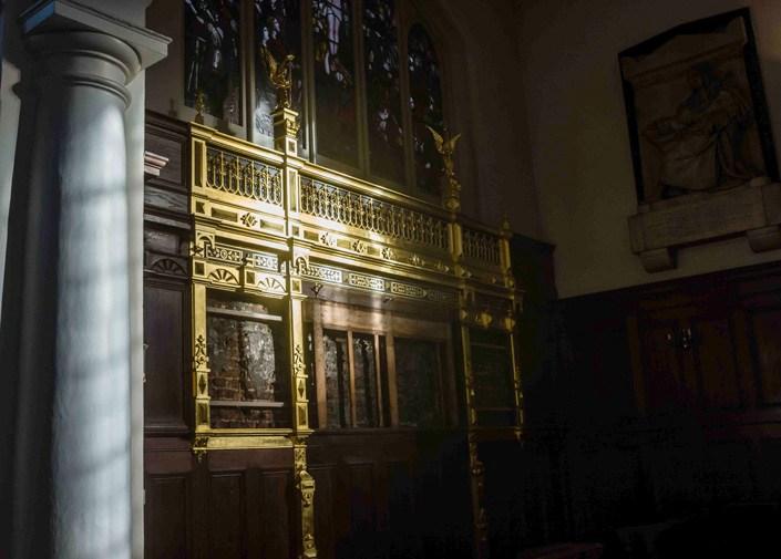 The Charterhouse chapel