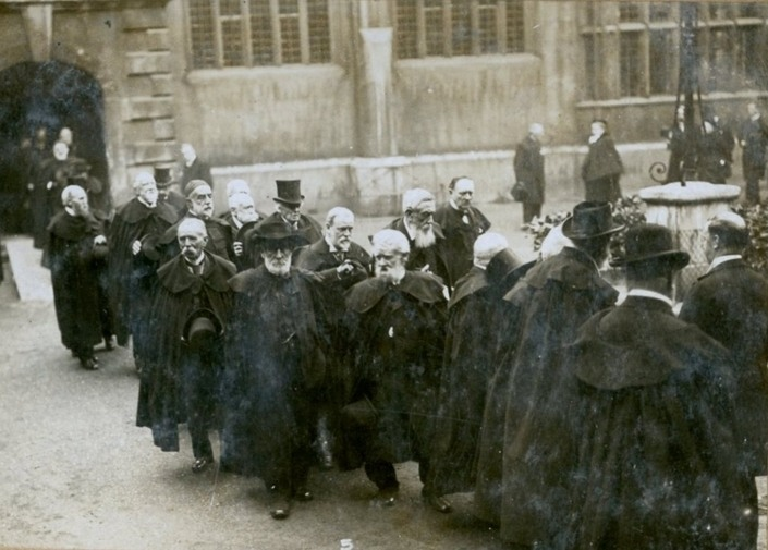 The Brothers of the Charterhouse in 1921.